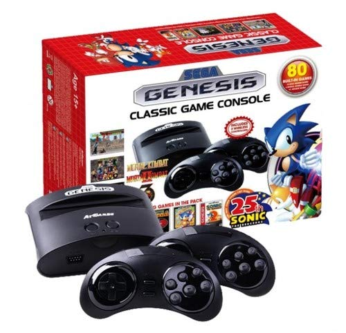 Sega Genesis Classic Game Console 2016 (Plug And Play Sega Genesis 80 Games)