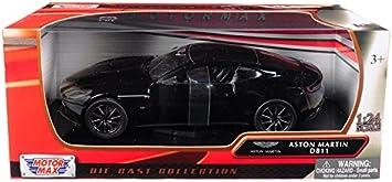 Aston Martin DB11 schwarz 1:24 Motor Max Modellauto