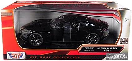 Motormax 1:24 Aston Martin DB11 Orange Diecast Model Sport Racing Car NEW IN BOX