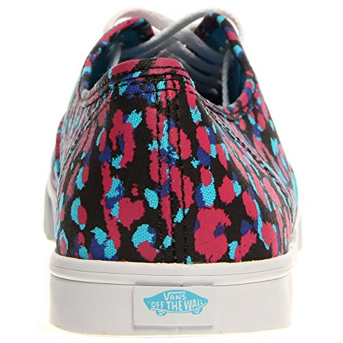 Vans U AUTHENTIC LO PRO VGYQ1W5 - Zapatillas de deporte de tela unisex, color negro, talla Fällt aus Normal Magenta/Blue Atoll