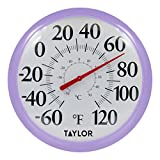 Taylor Precision Products 6700LC Thermometer, Lilac