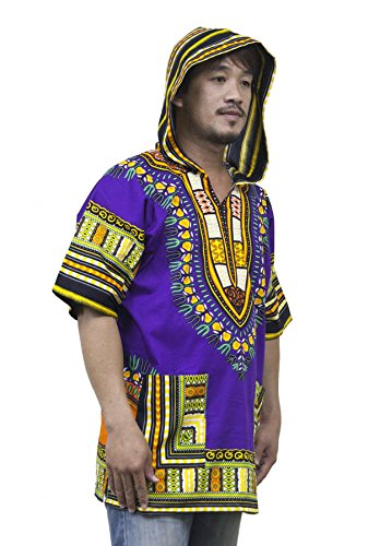 Lofbaz Unisex Traditional African Dashiki