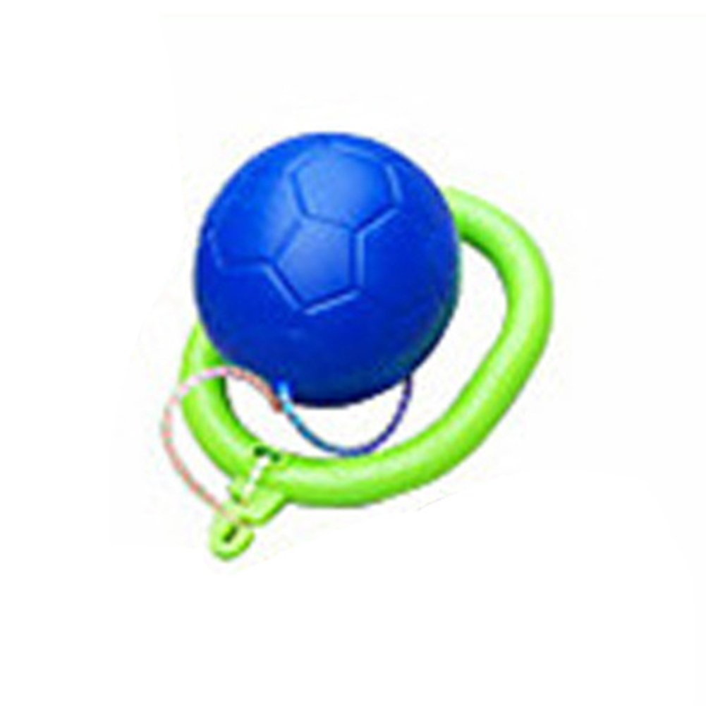 Meiyiu キッズ スキップボール ジャンピングトイ 面白いスイングボール フィットネスゲーム 男の子と女の子用 ブルー Zhpp-YWHW830-Ta-3C0AB99A08 B07GZNJ8WZ  ブルー