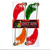 Melville Candy Spicy Chili Pepper Lollipops