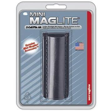 Maglite - 108-000-414 - Étui cuir lisse pour lampe Mini R6 mixte ... 234ce550994