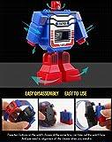 """Creative Children Calendar Cartoon """"The Transformers"""" Kids Wrist Watch, Red"""