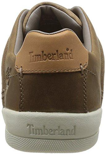 Timberland EK Split Cup Sole FTM Butt Seam Ox Herren Sneakers Braun (BLACK CANVAS)