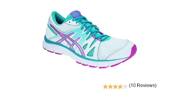 Asics - Zapatillas de running de genérico para mujer, - Blanc/Bleu ...