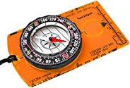 Orienteering Compass - Hiking Backpacking Compass - Advanced Scout Compass Camping and Navigation - Boy Scout