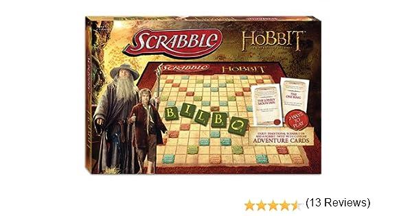 MONOPOLY: The Hobbit Scrabble Board Game - USAOPOLY [Reino Unido]: Amazon.es: Juguetes y juegos