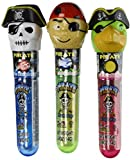 Kidsmania Pirate Flash Pops Novelty Lollipop Suckers 12 Count Box For Sale