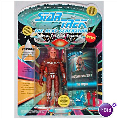 (Star Trek The Next Generation Vorgon 4 inch Action Figure)