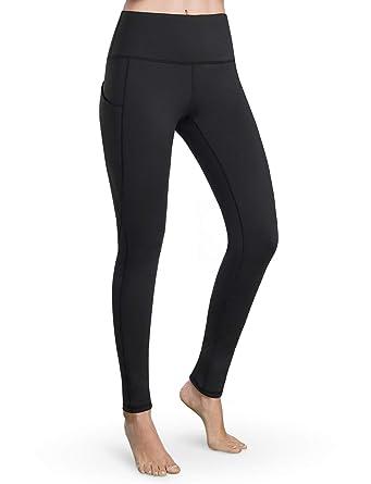 f701692825f00 Bamans Womens High Waist Yoga Pants Tummy Control Workout Pants 4 Way  Stretch Yoga Leggings with