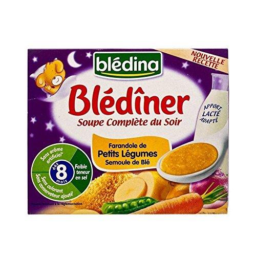 Blédina Blediner Soupe Légumes Et Semoule 2 X 25Cl - Paquet de 2 Bledina