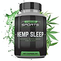 Hemp Natural Sleep Aid - Natural Sleeping Pills - Sleep Aids for Adults - Tranquil...