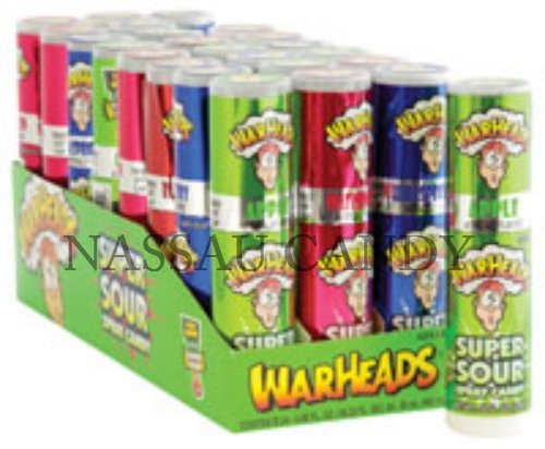 Warhead Impact Warheads Super Sour Spray Candy, Pack Of 24