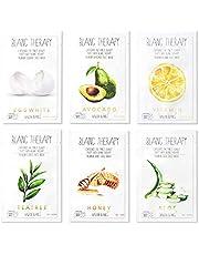 BALLONBLANC Therapy Face Facial Mask Sheet Skin Nutritional Face Masks   Korean Skin Care  