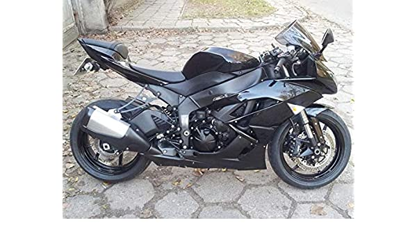 Amazon.com: Moto Onfire ABS Injection Molded - Black ...