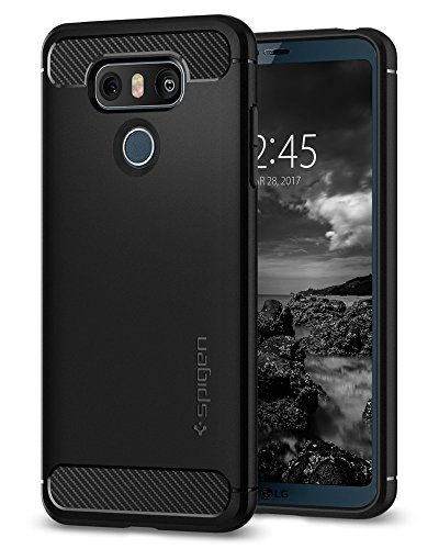 Spigen Rugged Armor Designed for LG G6 Case / G6 Plus Case (2017) - Black (Cell Phone Covers Lg T Mobile)