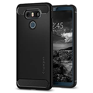 Spigen Rugged Armor Designed for LG G6 Case / G6 Plus Case (2017) - Black