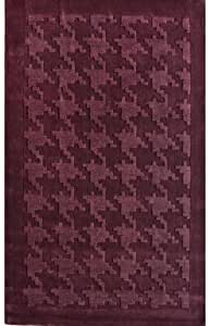 "NEW Wool Hand-Tufted Carpet Area Rug 7' 6"" x 9' 6"" Plum"