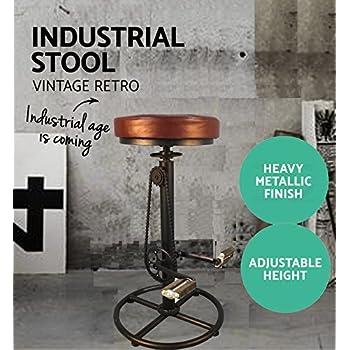 Amazon Com Charles Bicycle Wheel Adjustable Bar Stool