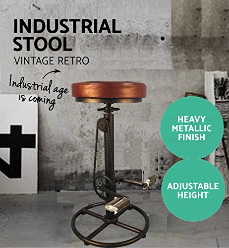 Retro Adjustable Bar Stools - 6