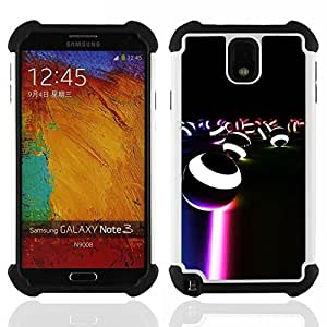 King Case - balls neon light led game stripes circle - Cubierta de la caja protectora completa h???¡¯???€????€?????brido Body Armor Protecci&Atil