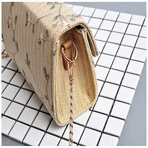 Caqui mochila para MENGMA Bolso única talla mujer AwH7Y8