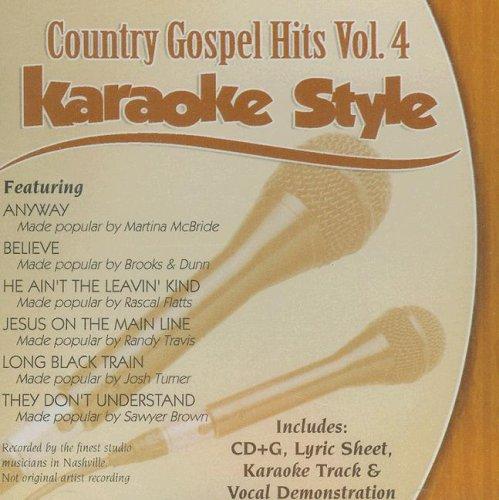 Gospel Country Hits, Volume 4: Karaoke Style [With Lyric Sheet] (Daywind Karaoke Style)