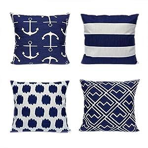 51f-hZTfFFL._SS300_ 100+ Nautical Pillows & Nautical Pillow Covers