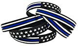 blue line bracelet - TENKEY American Flag Bracelet (Standard 8