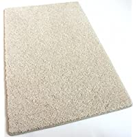 Vanilla Cream Area Rug - 30 oz. ½ Thick. 100% Polyester fiber, Medium Density, Soft and Durable - Multiple sizes available (10 x 14)
