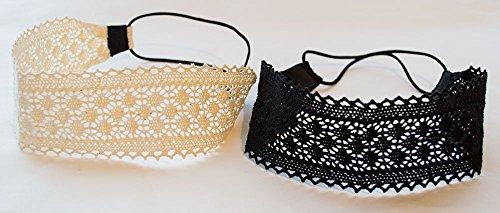 Stockings legs effect black black hair accessories lace Kachu system set Alt Taitsushimu entering with a Gothic Lolita satin ribbon (japan import)