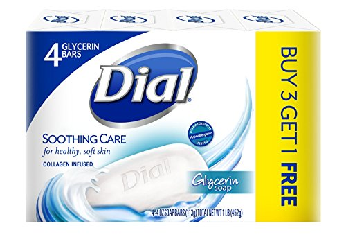 dial-glycerin-bar-soap-soothing-care-4-ounce-bars-4-count-pack-of-12