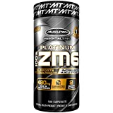 MuscleTech Essential Series 100% Zm6, Zma, 180 Count
