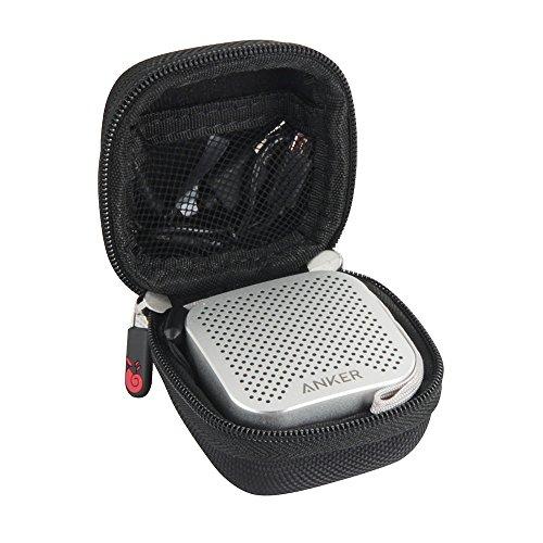 Hermitshell Hard EVA Travel Case Fits Anker SoundCore Nano Bluetooth Speaker (Black)