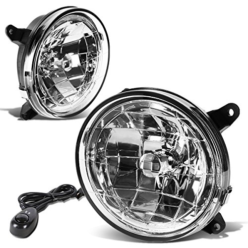 For Subaru Impreza Pair of Bumper Driving Fog Lights + Wiring Kit + Switch (Clear Lens)
