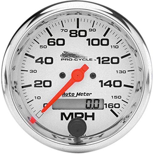 Auto Meter(オートメーター) 3-3/8インチスピードメーター 電気式 160mph表示 95-03ビッグツイン/XLモデル ホワイトフェイス DS-244175 スピードメーター 電気式 160mph表示 95-03ビッグツイン/XLモデル ホワイトフェイス DS-244175  B00RHH21HY
