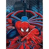Marvel Spiderman Plush Throw Blanket, Web Crawler
