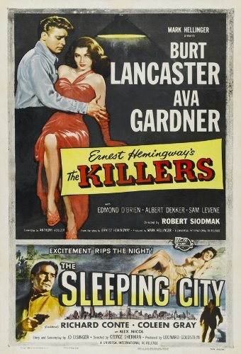 The Killers Poster Movie 1946 Style D