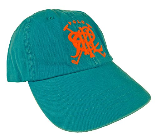 POLO RALPH LAUREN Cross Mallets Chino Sports Cap - OPTIC BLUE