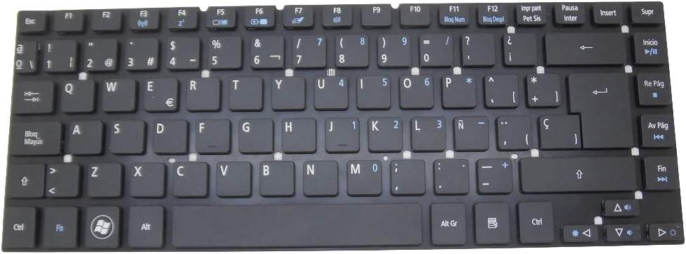 RTDpart Teclado del Ordenador portátil para Acer Aspire 3830 ...