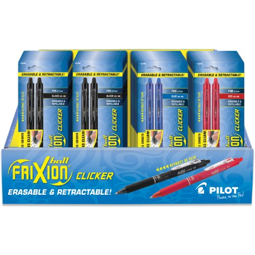 Pilot Retractable Erasable Assorted Disappear