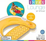 "Intex Sit N Float Inflatable Lounge, 60"" X 39"", 1"