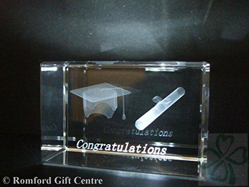 Graduation Paperweight (GRADUATION / GRADUATE LASER PAPERWEIGHT 3 DIMENSIONAL 3643)