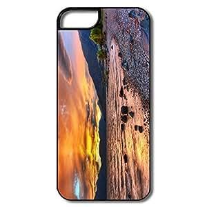 Durable New Zealand Landscape Plastic Case For IPhone 5/5s wangjiang maoyi