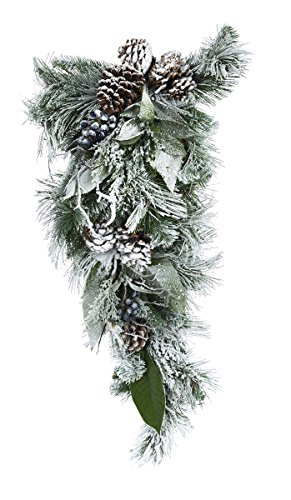 Darice Christmas Arctic Circle Mixed Pine Teardrop 32 Inches by Darice