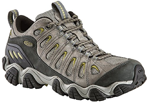 Oboz Men's Sawtooth Low Light Hiking Shoe,Pewter,9 M US by Oboz