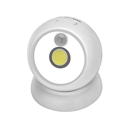 Matefielduk COB LED Sensor de movimiento Luz nocturna Gabinete de emergencia Pasillo Dormitorio Lámpara
